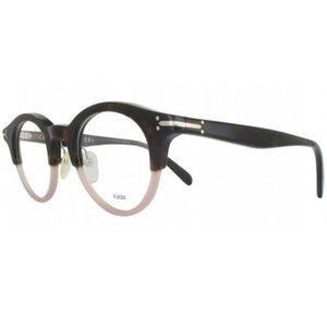 Celine Eyeglasses Black Havana w/Demo Lens